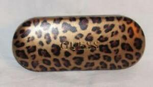 Guess leopard glasses case