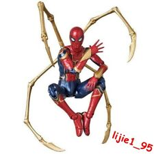 Mafex No.081 Marvel Avengers Infinity War Iron Spider-Man Action Figure In Box