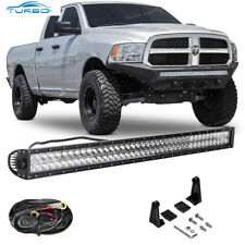"2002-2008 Dodge Ram 1500 42"" Behind Lower Bumper Grille LED Light Bar+ Wiring"