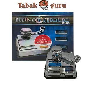 OCB Mikromatic DUO Stopfer Micromatic Zigarettenmaschine Stopfmaschine