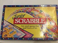 Junior Scrabble 2 in1 board game Age 5 and up.  Spears Games.