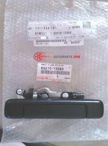 Toyota Corolla AE86 Trueno Levin Right Outer Door Handle Genuine 69210-12080