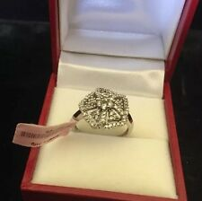 LOVERS DIAMOND RING ENGAGEMENT 10K WHITE GOLD NWT $1509 FINE JEWELRY Sale