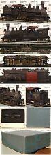 HO train UNITED PFM Brass Steam 2-Truck SHAY Logger Eng HH TIMBER CO *nice*aerd*