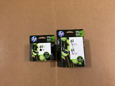 Genuine HP 61XL Black HP 61 Twin Tri Color Ink Cartridges DeskJet Envy Officejet
