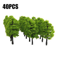 50X Trees Model Train Railroad Wargame Diorama Scenery Landscape HO OO Scale