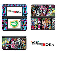Monster High Vinilo Skin Adhesivo Para Nuevo Nintendo 3ds Xl (con C Stick)