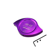 PURPLE Mugen Power Emblem Racing Radiator Cap Decoration Protection for Honda