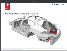 Tesla Model S: Complete Service & Repair Manual, Theory, Wiring, Parts, Body