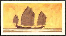 Chinese Junk #28 The Saga Of Ships Brooke Bond Card (C1893)