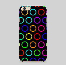 Colourful Circles Rings Phone Case Cover
