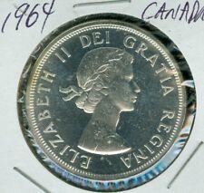 1964 CANADA SILVER DOLLAR TOP GRADE PL