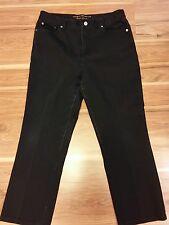 Womens ralph lauren jeans size 10 straight legs good condition Black