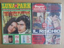 BUSTA anni 70 di 2 Fotoromanzi LUNA PARK 86 + Sogno Mensile 103  [D3]