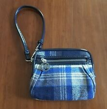 AEROPOSTALE PLAID ZIPPERED WALLET NWOT