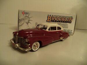 BROOKLIN MODELS BRK 105 CADILLAC LOTUS CREAM/MADEIRA 1947  1/43 SCALE IN BOX