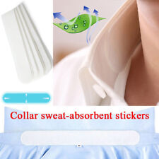 6X Unisex Disposable T-Shirt Neck Collar Armpit Sweat Absorbing Paper Pads Cleve