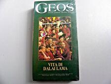 """VIDEOCASSETTA VHS  GEOS """" ABC DELL'ECOLOGIA""""  ED. ECOS 1994  SIGILLATO"""