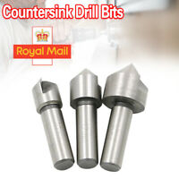 Countersink Set 3pce For Steel /& Hard Metals 10 12 /& 16mm High Speed CSK Bits