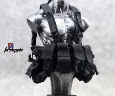1:6 Scale Military action figure part Black PLAYHOUSE PH LBT 1961 PMC Vest Model
