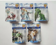 Toy Story 4 Mini Figures ~ Cake Toppers Forky Woody Rex More Mattel Toy Lot of 5