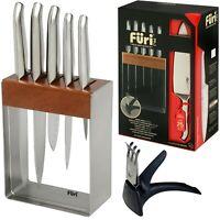 100% Genuine! FURI Pro 7 Piece Stainless Steel Knife Block Set! RRP $549.00!
