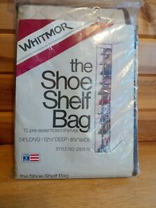 Whitmor Shoe Shelf Bag 10 Shelves
