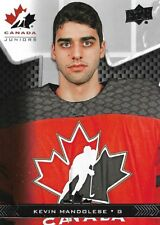 Kevin Mandolese #30 - 2018 Team Canada Juniors - Base Men