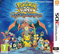 Pokemon Super Mystery Dungeon (Nintendo 3DS And 2DS, 2015)