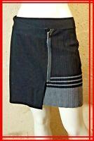 COMPTOIR DES COTONNIERS Taille L 40 42 Superbe jupe noire et grise VARSOVIE