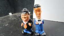 Laurel Hardy figurines Lakeside Toys Larry Harmon Windup Rubber Wobbers