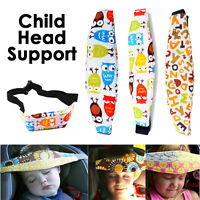 NEW Child Kids Safety Car Seat Sleep Aid Head Support Belt Eliminates Pressure