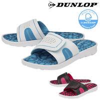 Dunlop Ladies Womens Sandals Open Toe Flip Flops Comfy Memory Foam Sizes 3-8