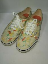 VANS Disney Mens 8 Womens 9.5 Little Mermaid Ariel Sneakers Shoes Lace Up Vans