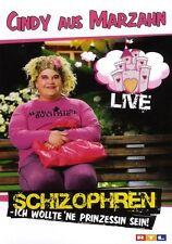 "CINDY AUS MARZAHN ""SCHIZOPHREN... (LIVE)"" DVD NEU"