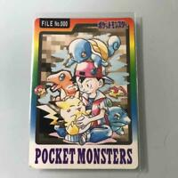 Pokemon Carddass Collection File No.000 Japanese ver. Excellent