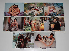 Elliott Gould Move Paula Prentiss set of 8 US photos