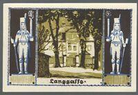 Notgeld - Schneeberg - Stadt Schneeberg- 50 Pfennig - 1921 - Bild 1 - Langgasse