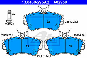 ATE Disc Brake Pad Set For CHRYSLER Pt Cruiser 5083853AA