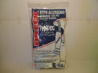 8 Oreck XL Type CC Hypo Allergenic Celoc Filter Vacuum Bags BRAND NEW