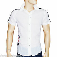 Chemise manches courtes coupe regular blanche BIG STAR homme