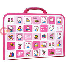 Sanrio Hello kitty File Case Project Art Zippered File Bag School Stationery
