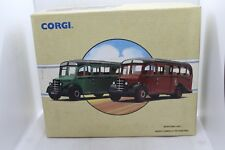 Corgi Classics From Corkills to Kasteel Gift Set with 2 Bedford OB Coaches