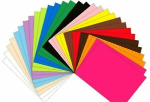 5 & 10 Pack A4 Funky Foam Sheets EVA Craft 2mm Thick Choose Pack Size and Colour