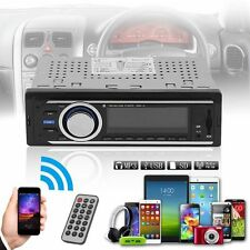 Car Audio Stereo In Dash AM FM Aux Input Receiver with SD USB MP3 Radio Player E