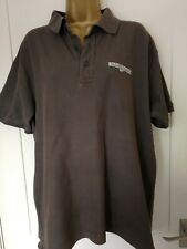 """RARE COLLECTABLE 007 BOND IN MOTION GREY POLO T-SHIRT SIZE XL 44"""" CHEST EX CON"""