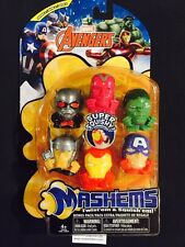 *NEW* MARVEL AVENGERS Series 4  complete  6 piece  mashems-fashems gift set !
