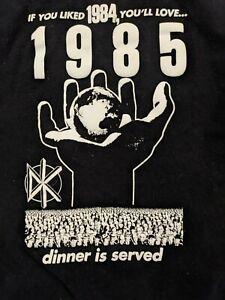 1985 DEAD KENNEDYS FRANKENCHRIST U.S WORLD TOUR CONCERT SHIRT PUNK t-shirt tee