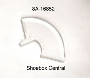 1949 Ford Shoebox Car Hood Ornament Plastic Insert