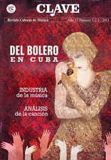 CLAVE - REVISTA CUBANA DE MUSICA Various issues Cuban Music Magazine Cuba